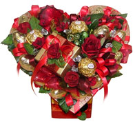 Букет из шоколадных конфет