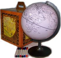 Мир своими руками: глобус-раскраска