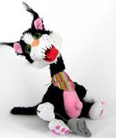 кот-хулиган
