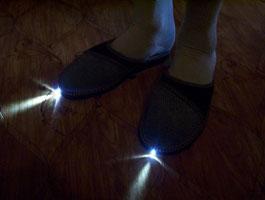 Тапочки с фонариком