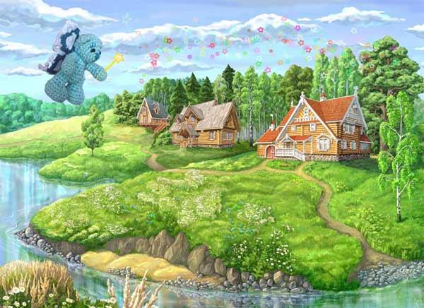 Мишка-фея и лес