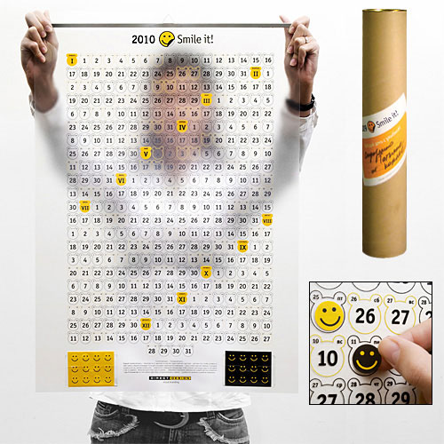 Календарь Портрет года