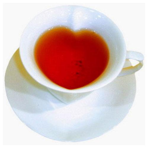 Кофейная кружка в форме сердца