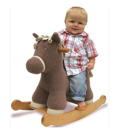 Лошадка-качалка для малютки