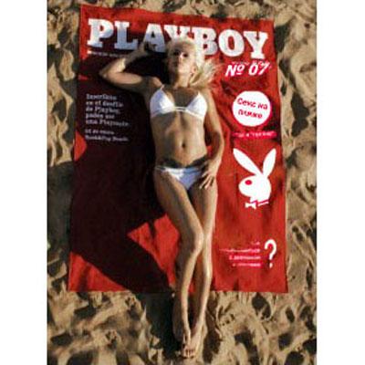 Пляжное полотенце Плэйбой