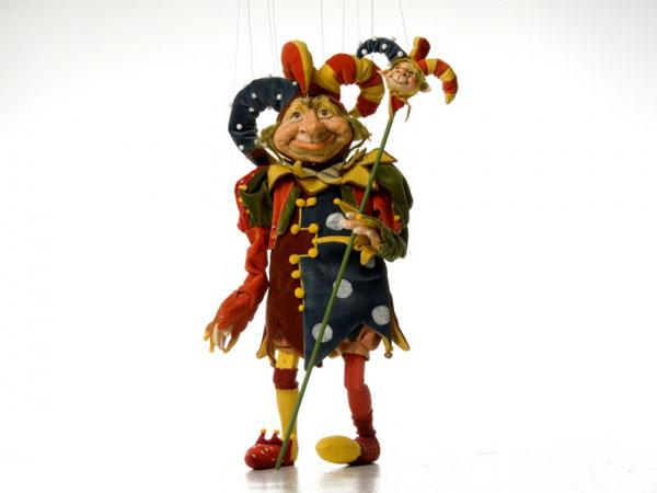 Деревянная марионетка - сказка в подарок!