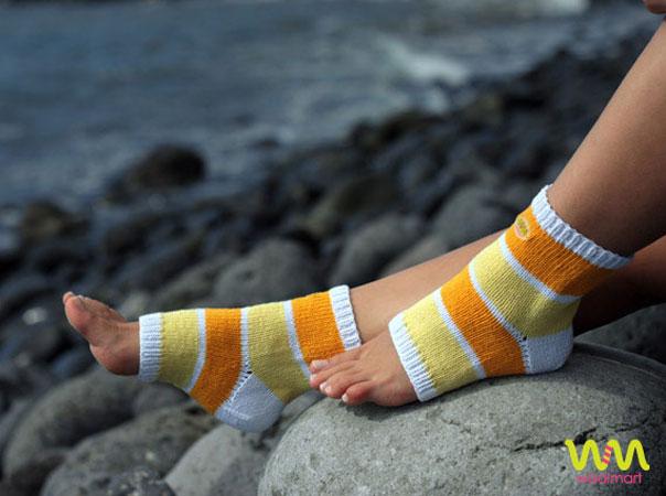 Стильно и удобно: дарим вязаные носочки!