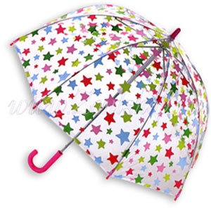 Прозрачный зонт