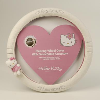"женский чехол на руль ""Hello Kitty"""