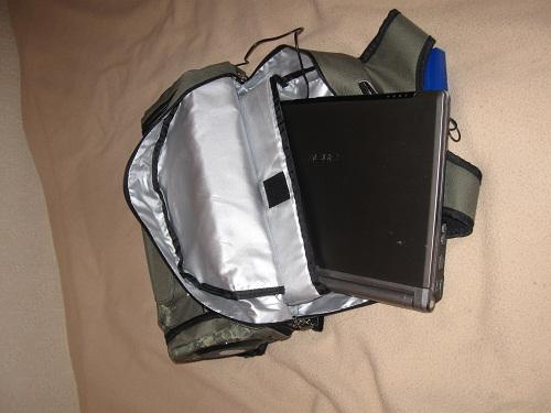 Рюкзак Ripper, пожирающий ноутбук