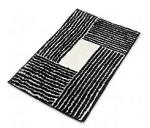Модный прямоугольный коврик
