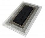 Черно-белый коврик