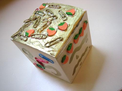 Оформляем подарочную коробку