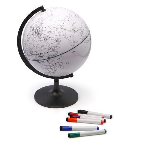 Глобус-раскраска