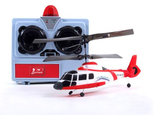 Вертолет и пульт управления