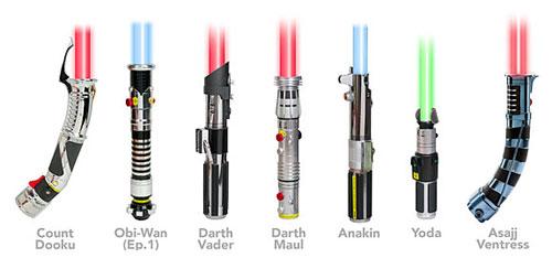 Световой меч, он же – лазерная сабля