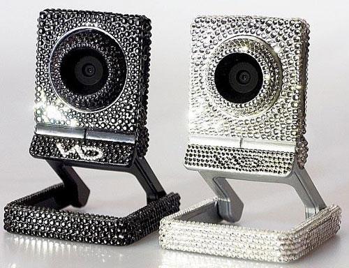 Веб-камера со стразами