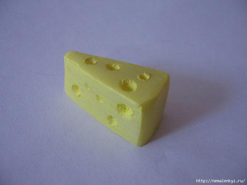 Красим сыр