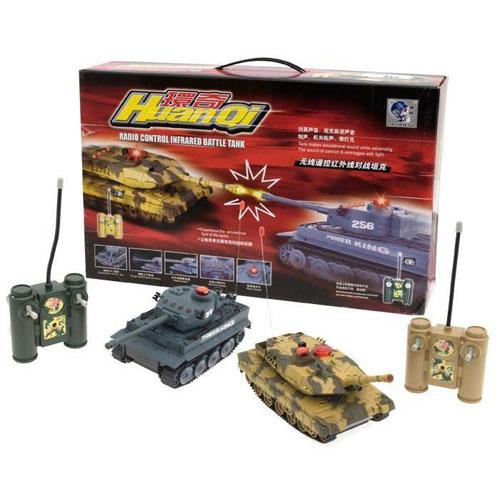 Радиоуправляемый танковый набор