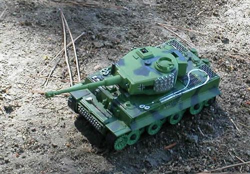 Тигр в Танковом бою