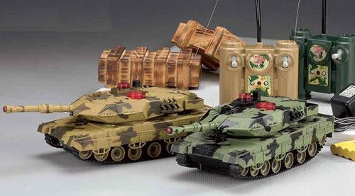 Подарок ребенку - танковый бой