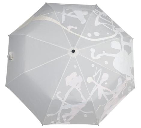 Белый сухой зонт