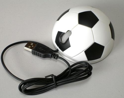 Компьютерная мышка «Футбольный мяч»
