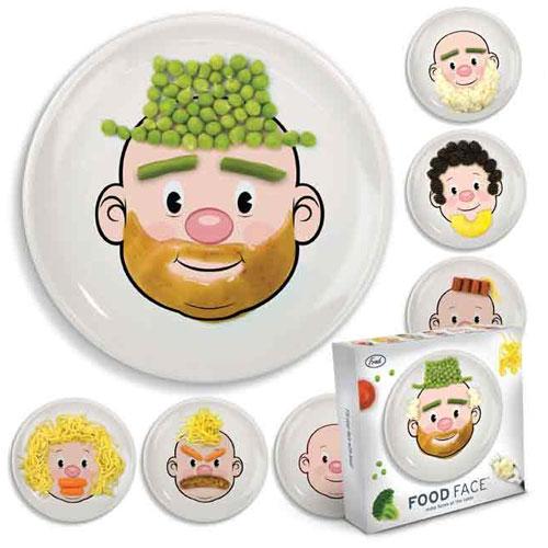 Тарелки food face