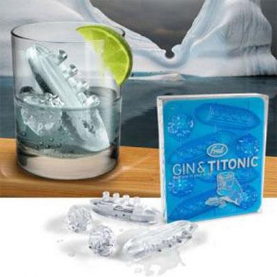 Форма для льда «Джин и Титаник»