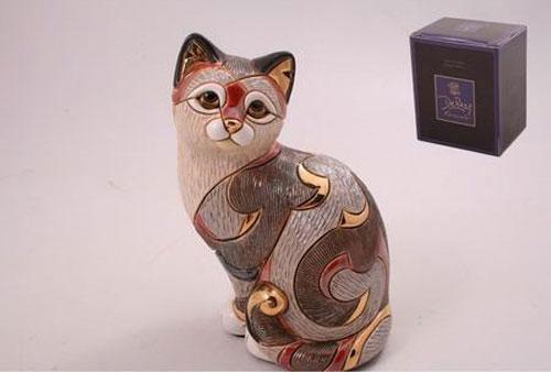 Статуэтка «Кот ситцевый»