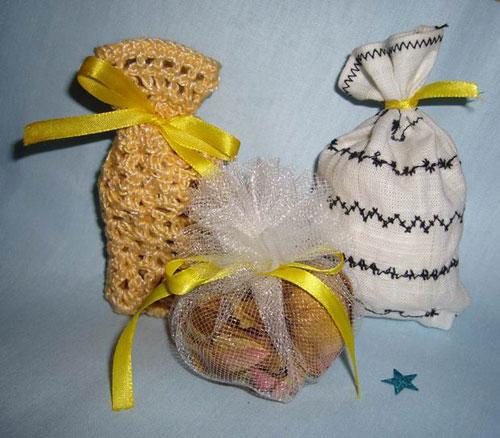 Ситцевые мешочки-саше для ароматизации