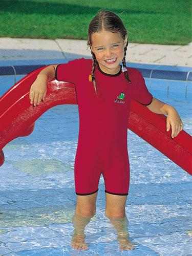 Неопреновый детский комбинезон для плавания