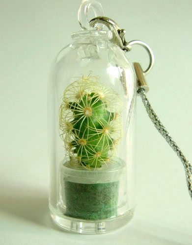 Брелок с кактусом