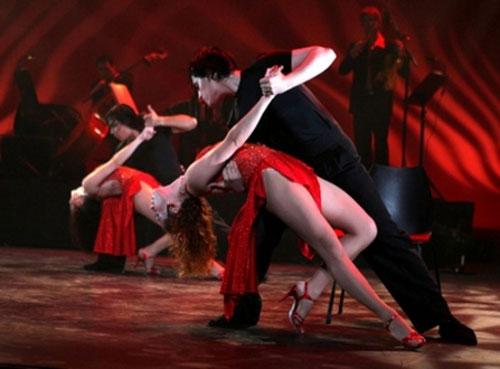 Урок аргентинского танго