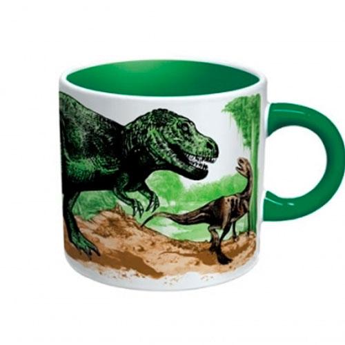 Кружка «Вымирающий динозавр» - холодная