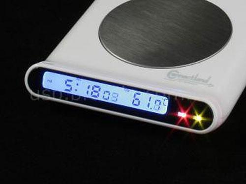 USB-подогрев для чашки + USB-хаб на 4 порта + часы