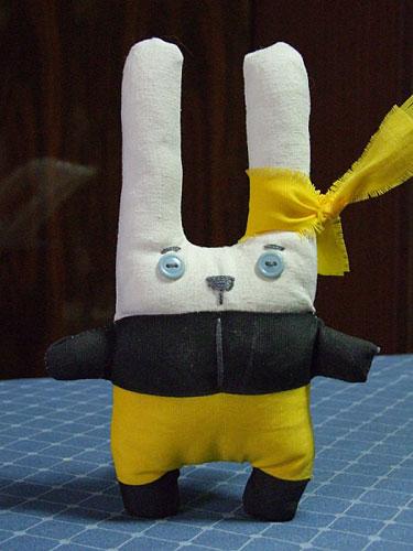 Мастер-класс по шитью зайцев