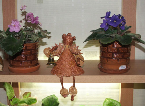 Ангел в бронзовом цвете