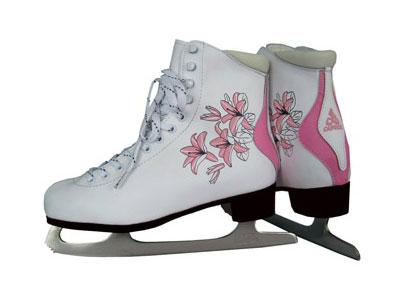Фигурные коньки Lily Pink