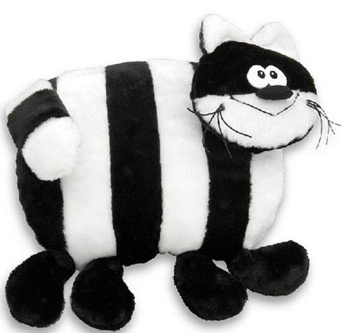 Подушка Кот полосатый с ножками