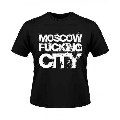 футболка о Москве