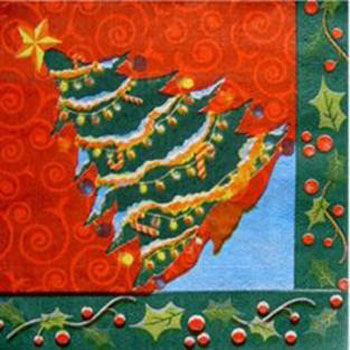 Салфетки Новогодняя елка