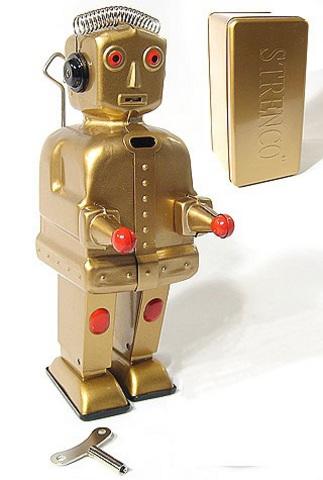 Ретро-робот ST-1