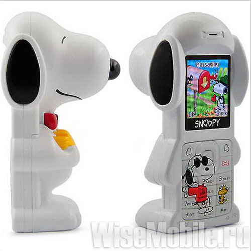 Мини-телефон Snoopy