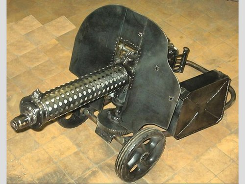 Светильник-пулемет