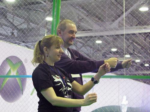 1001smile и Андрей Данченко на Игромире
