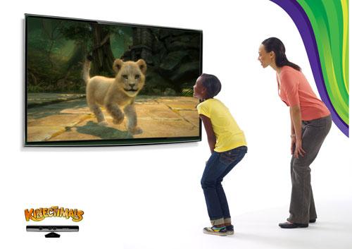 Игра Kinectimals