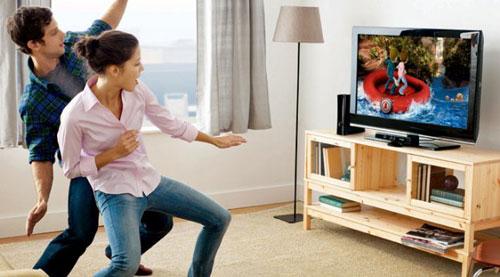Kinect необходимо свободное пространство и хорошее освещение