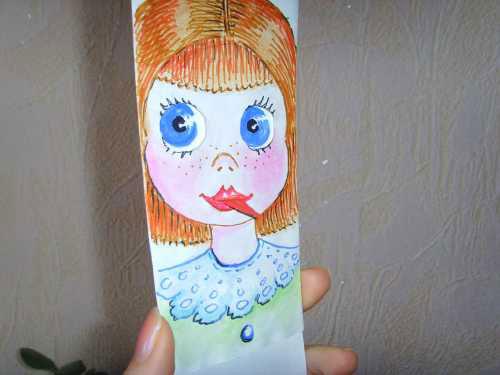 Бумажная дразнилка