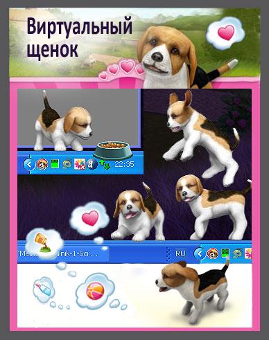 Скринмейт щенок